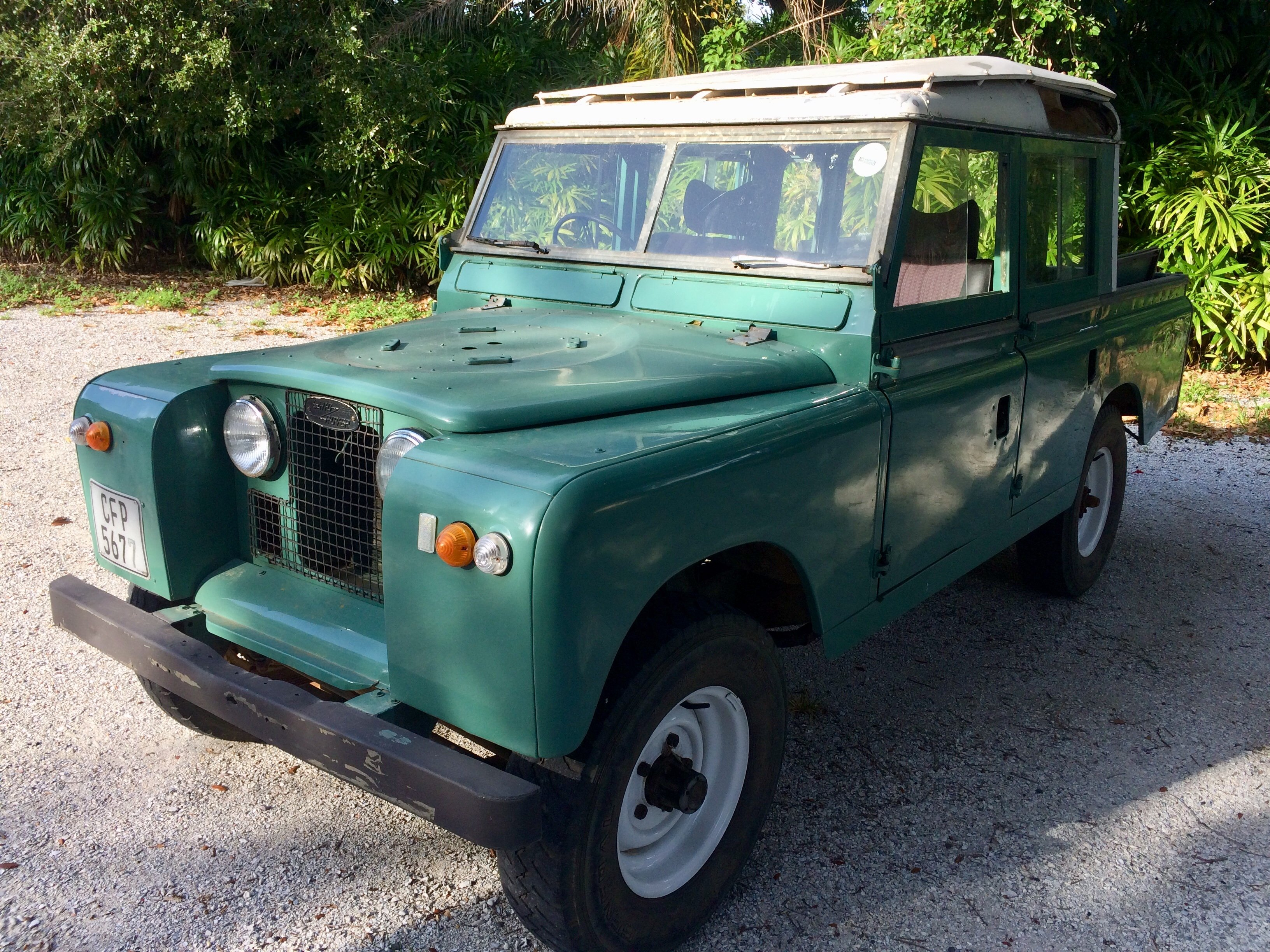 1964 Land Rover Series 2a 109 4 Door Extended Cab For Sale